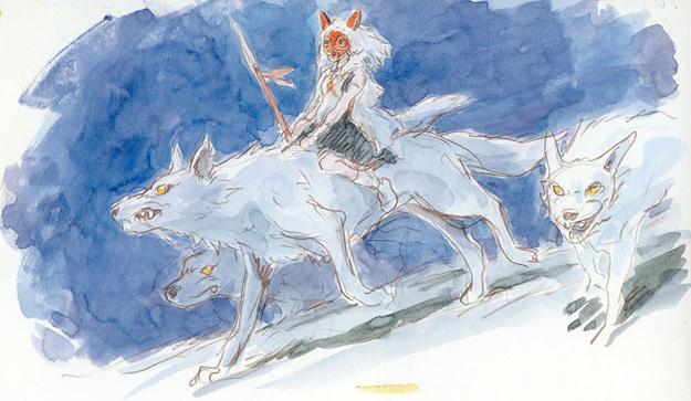 Studio Ghibli's Forgotten Concept Art - Rice Digital