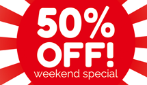 Black Friday Weekend Deals at Rice Digital