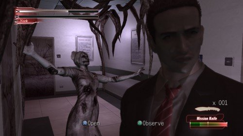 Deadly Premonition: The Director's Cut - Zombie nurse