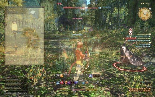 Final Fantasy XIV: A Realm Reborn Beta - Archer