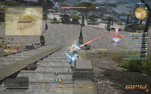 Final Fantasy XIV: A Realm Reborn Beta - Thaumaturge battle 2