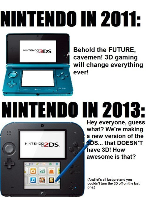 The Internets Response To The Nintendo 2ds Rice Digital