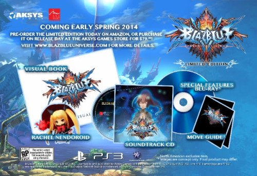 BlazBlue Limited Edition Chronophantasma