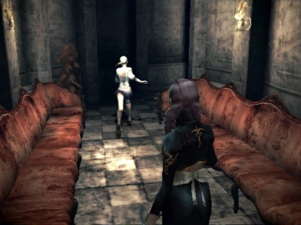 Haunting Ground - Chase scene