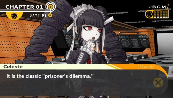Danganronpa - Prisoners dilemma