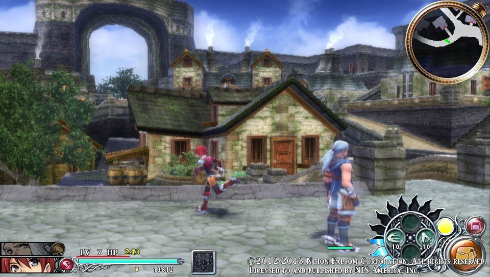 Ys Memories of Celceta - Town