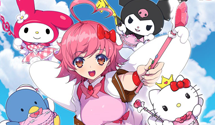Arcana Heart characters in the next Hello Kitty game