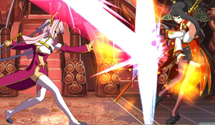 All-girl 2D fighting action in Koihime Embu