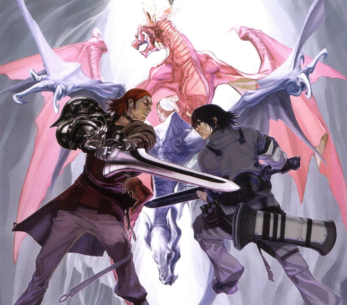 Drag On Dragoon Concept Art