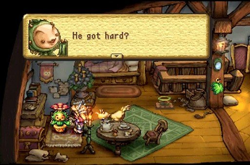 Legend of Mana - Gilbert