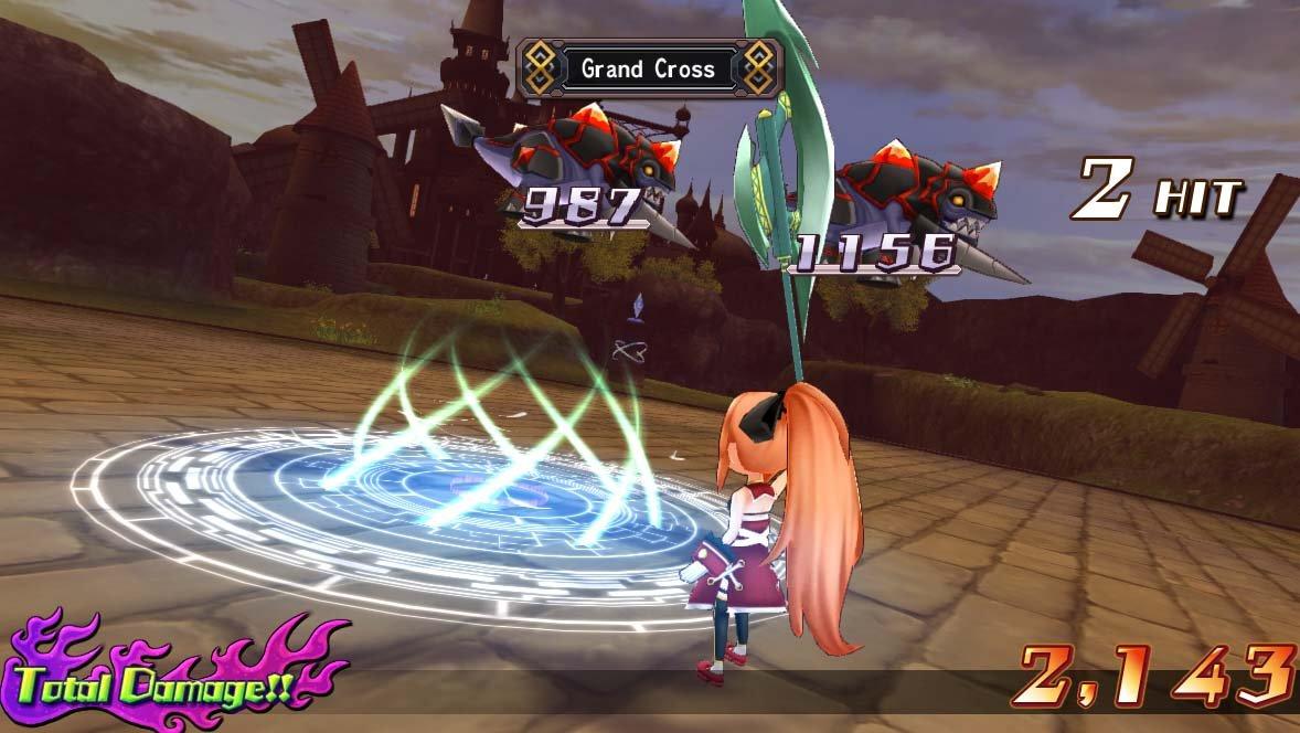 Mugen Souls Z - Combat