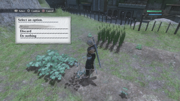 Nier - Harvesting