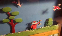 Wuppes' 3D video game papercraft artworks are amazing