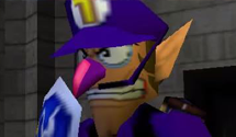 Play as Waluigi in Zelda Ocarina of Time