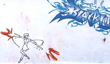 Awesome BlazBlue Graffiti Animation