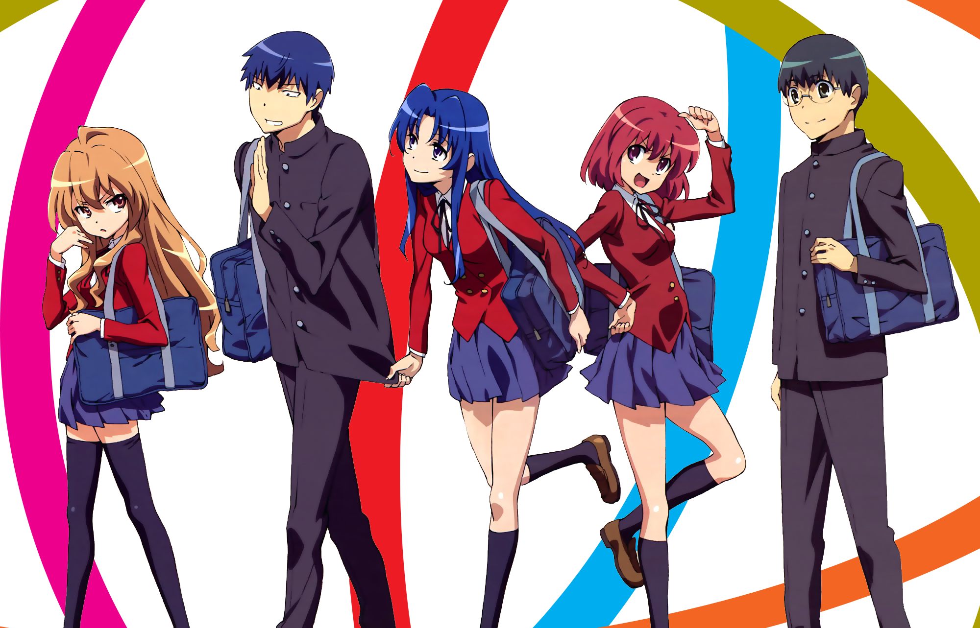 Anime Characters Hd : Toradora review anime rice digital