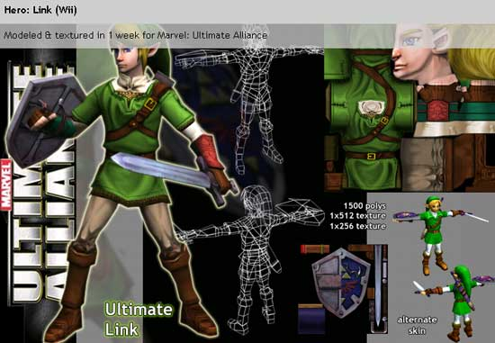 marvel-ultimate-alliance-link-Zelda Crossovers
