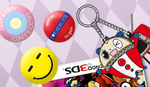 Persona Q Pre-Orders Now with Free Chie's Badge Set & Teddie Key Ring