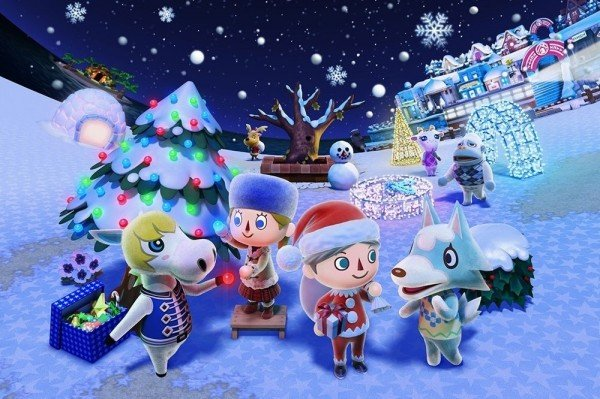 animal-crossing-xmas-Christmas Games