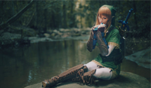 Sexy Link Cosplay – I REALLY like it when girls dress up as Link!