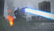 New Godzilla PS4 Screenshots