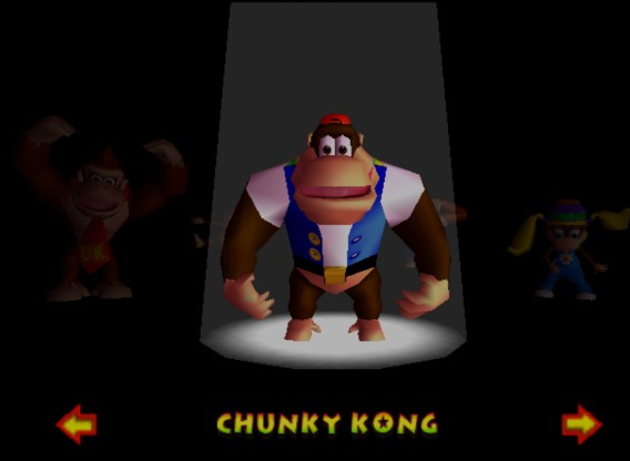 Characters donkey kong 64 review