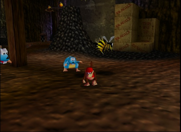 mine donkey kong 64 review