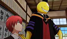 Assassination Classroom Episodes 15/16 Review: End-of-Term Time / School's Out – 1st Term (Anime)