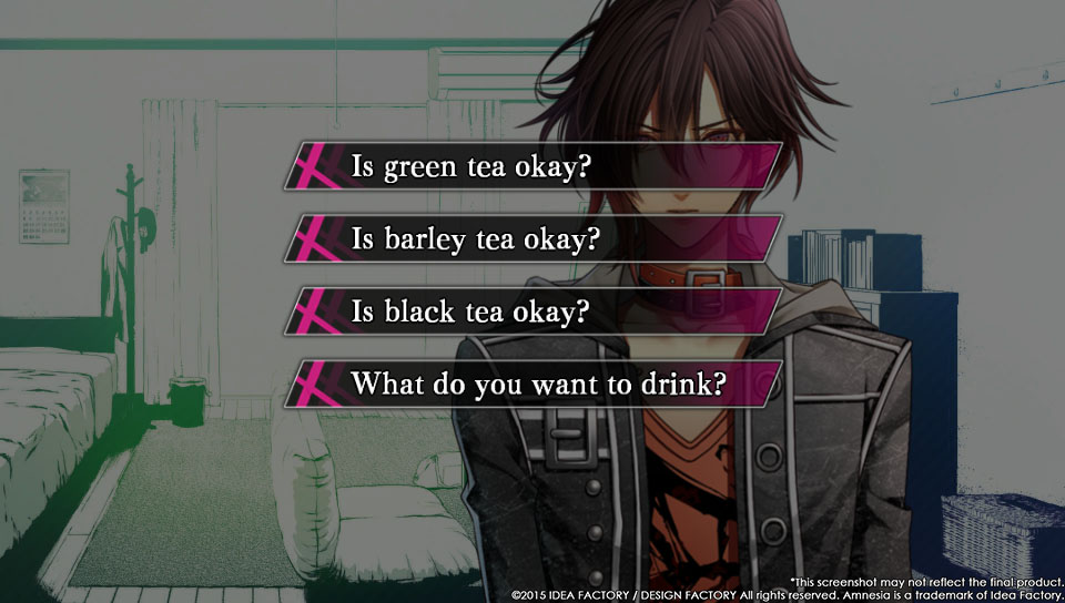 how to play amnesia otome game order