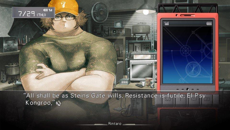 Steins Gate Review Ps Vita Rice Digital Rice Digital