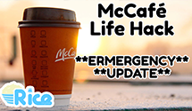 McDonald's McCafé Life Hack **EMERGENCY UPDATE** – Pro Gamer Life Hacks