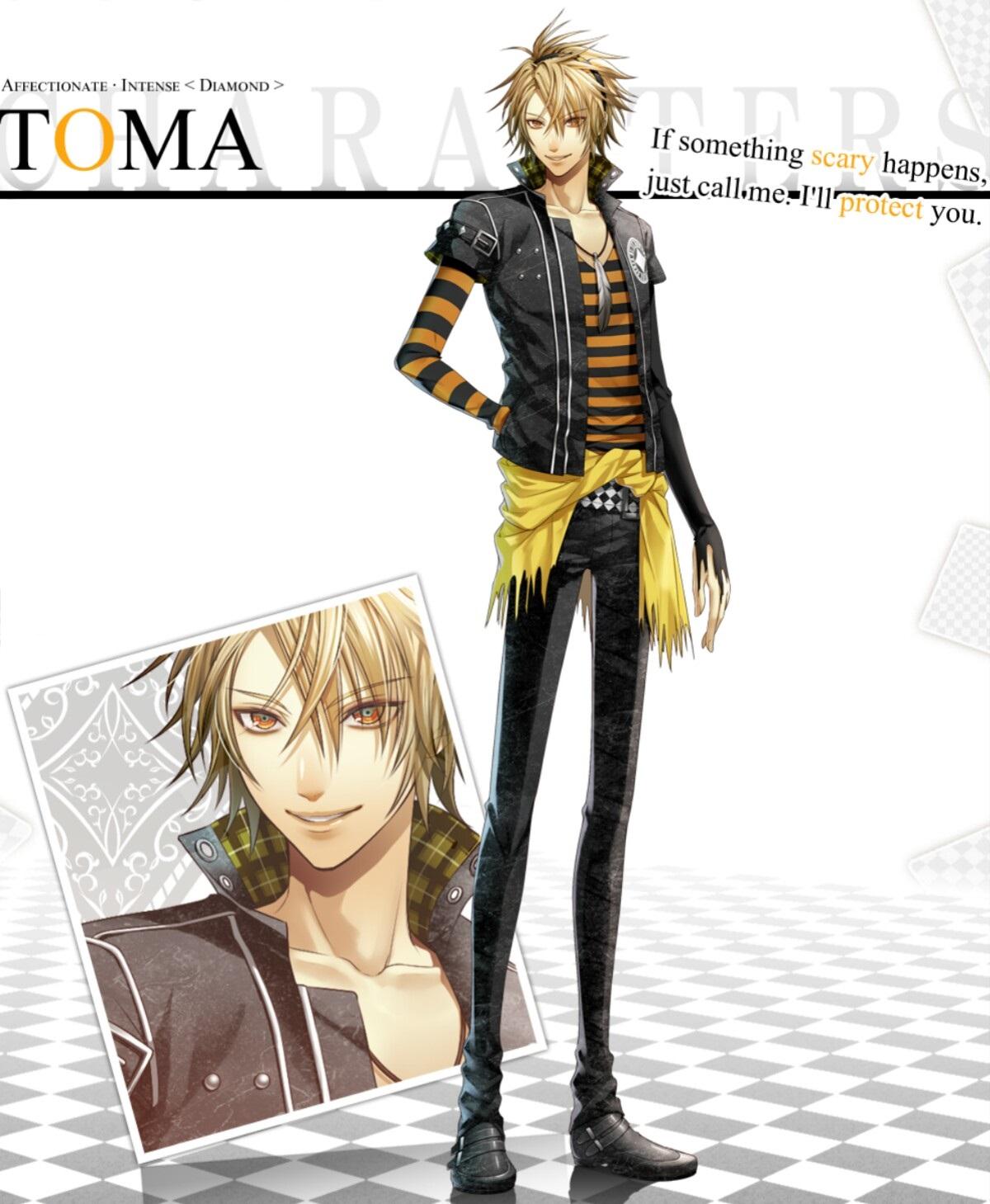 Amnesia Memories: New Screenshots of Toma & Ikki