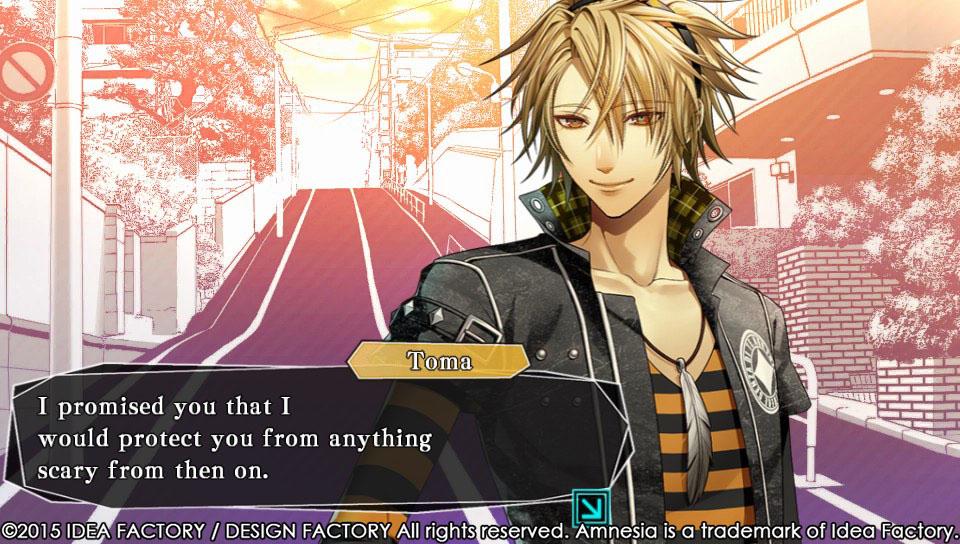 Amnesia Memories New Screenshots Of Toma Ikki