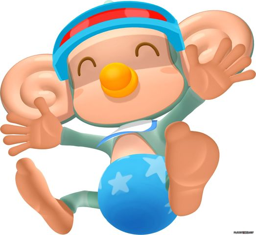 baby super monkey ball Video Game Monkeys