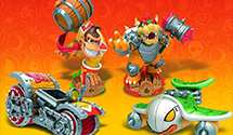 Skylanders SuperChargers Preview – Hammer Slam Bowser & Turbo Charge Donkey Kong