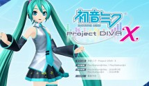 Hatsune Miku: Project Diva X Revealed for PS4 and Vita