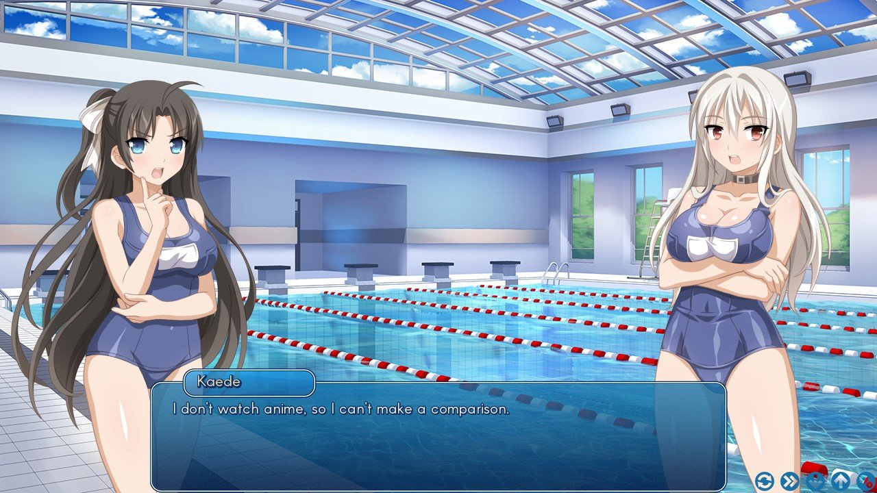 Sakura swim club is available for windows mac and linux on steam for