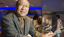Nintendo's New President Tatsumi Kimishima Enjoys Summer Activities