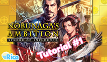 Let's Play Nobunaga's Ambition Sphere of Influence #1 – Tutorial How-To Guide: Part 1/3