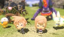 World of Final Fantasy's New Trailer Will Melt Your Heart Away