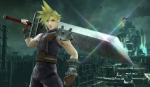 Cloud Strife from Final Fantasy VII joins Super Smash Bros.