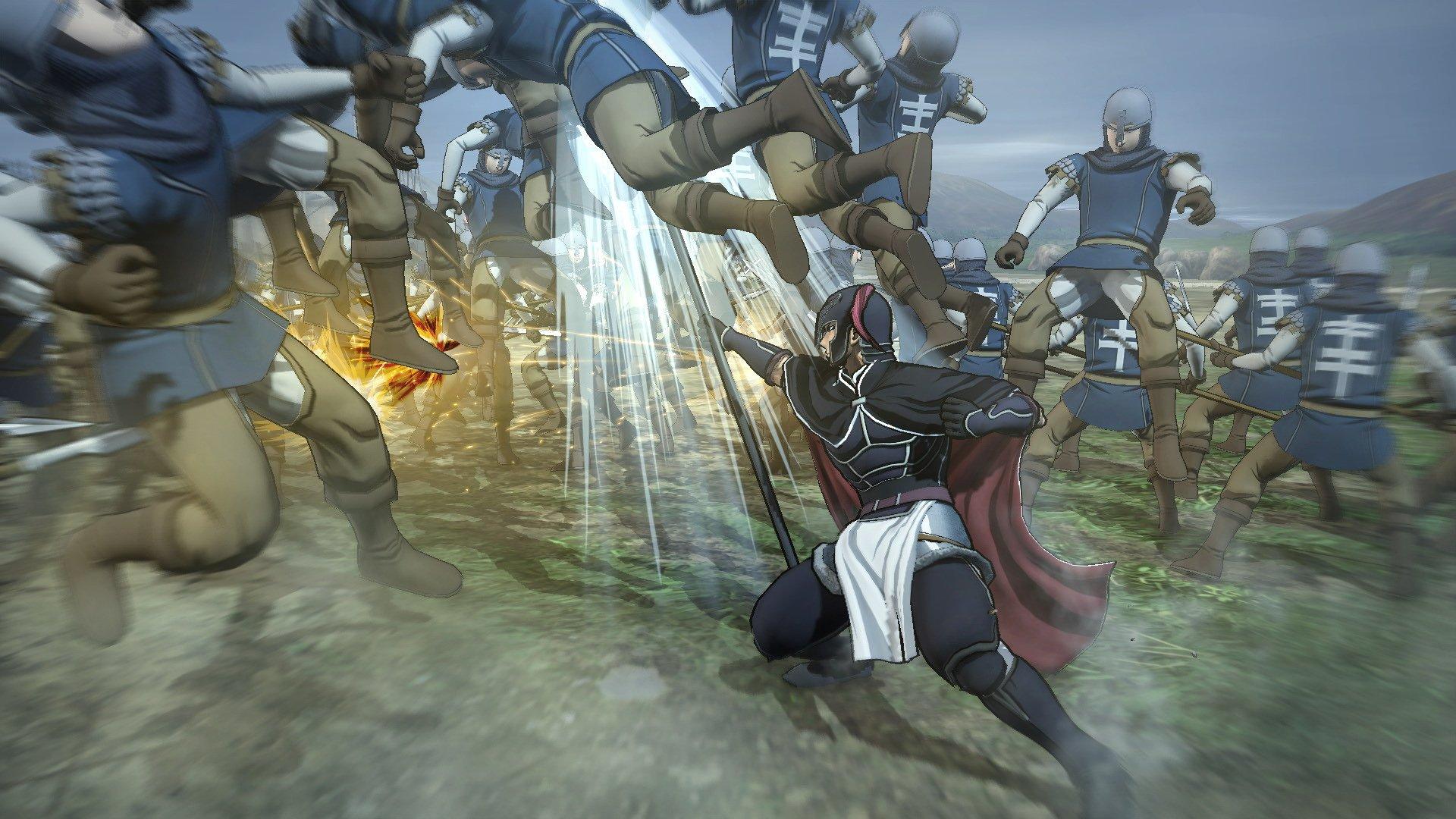 Daryun_Battle_3 Arslan: The Warriors of Legend Preview