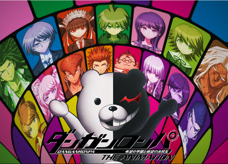 Danganronpa The Animation Review Anime