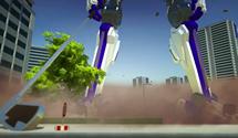 100ft Robot Golf Trailer