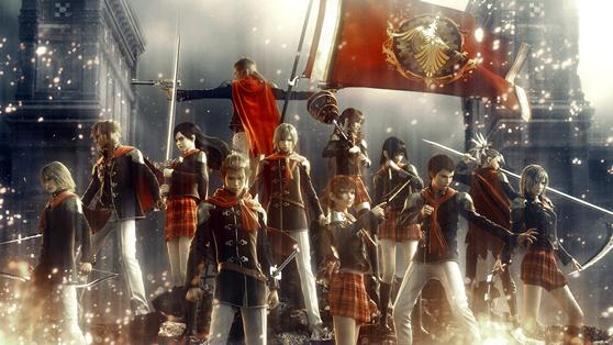 Best 2015 - Final Fantasy Type-0