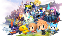 World of Final Fantasy New Gameplay Video
