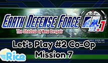 Let's Play Earth Defense Force 4.1 #2 (Co-Op) – Mission 7: Eruption