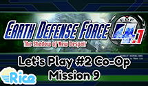 Let's Play Earth Defense Force 4.1 Mission 9: Beach Fear