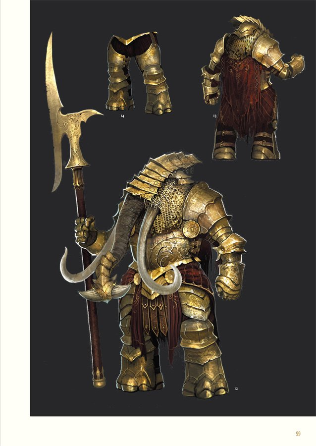 DarkSoulsII_OfficialDesignWorks_HC_sample02 Dark Souls II Design Works Review