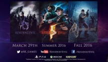 Resident Evil 4, 5 and 6 headed to PS4 and Xbox One